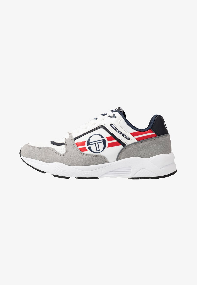 sergio tacchini - SONIC AUTHENTIC - Tenisky - white/deep/red