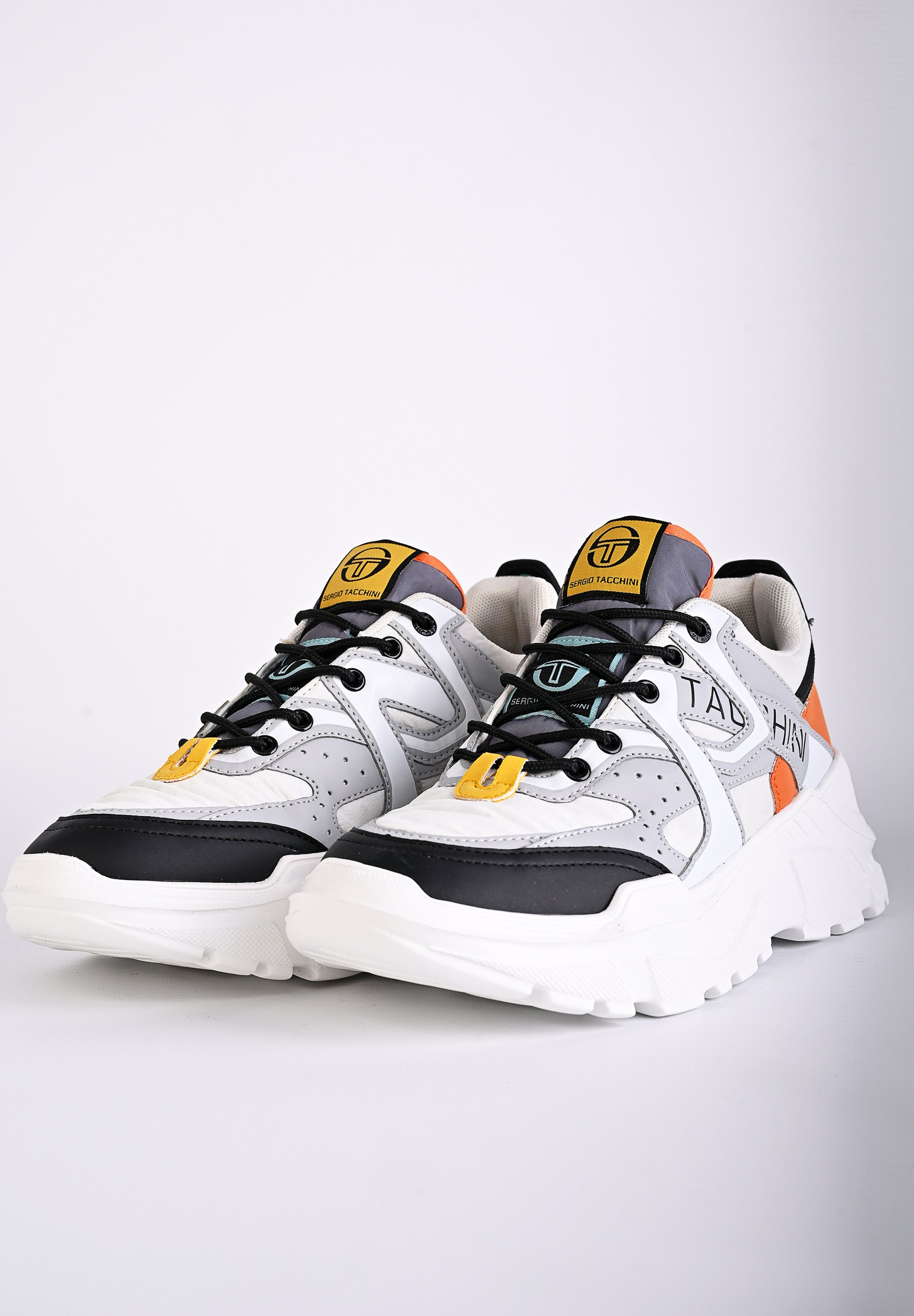 sergio tacchini SNEAKER EXPERIENCE MIX - Baskets basses - ice