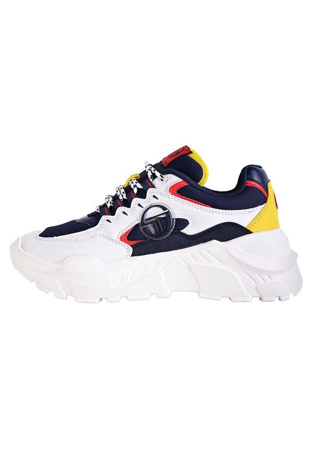 SNEAKER WOXED MIX - Trainers - white