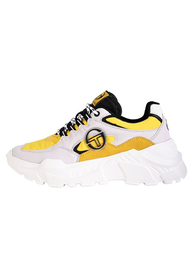 sergio tacchini - SNEAKER WOXED MIX - Trainers - ice