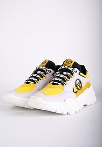 sergio tacchini - SNEAKER WOXED MIX - Trainers - ice - 3