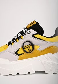 sergio tacchini - SNEAKER WOXED MIX - Trainers - ice - 5