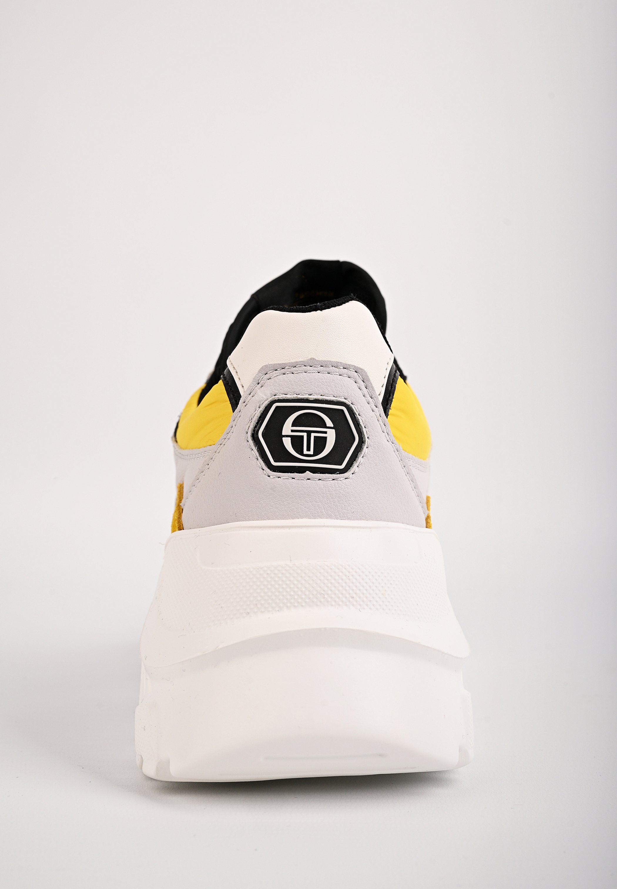sergio tacchini SNEAKER WOXED MIX - Sneaker low - ice