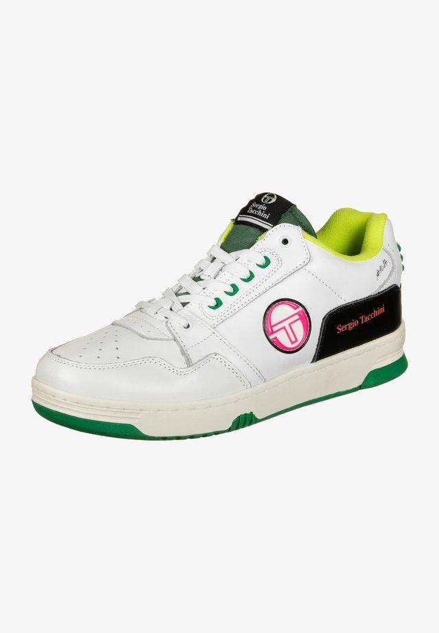 PRIME SHOT - Trainers - white/green/black