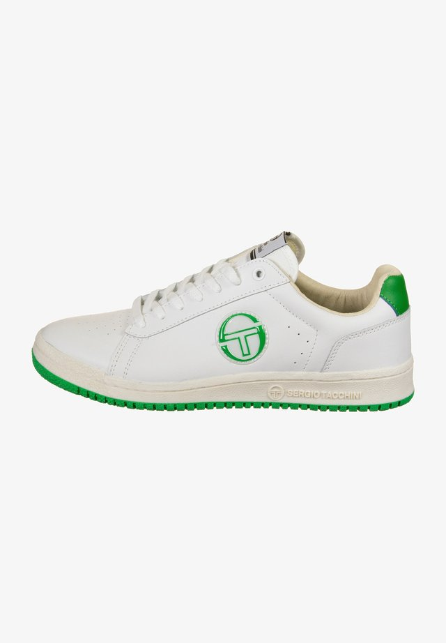 GINNICA - Trainers - white+green