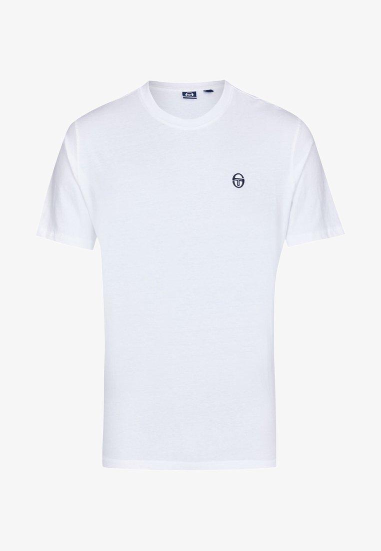 sergio tacchini - DAIOCCO  - T-Shirt basic - white
