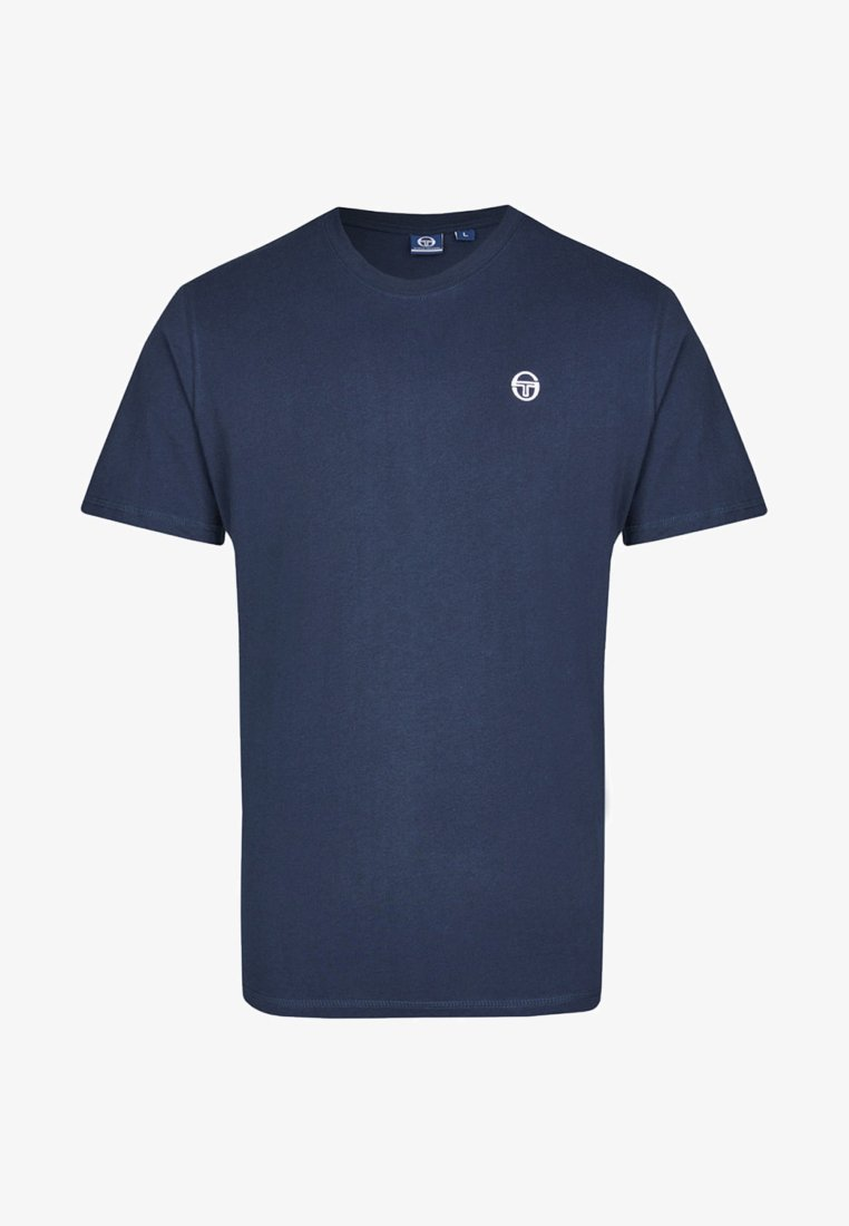sergio tacchini - DAIOCCO  - T-Shirt basic - dark blue