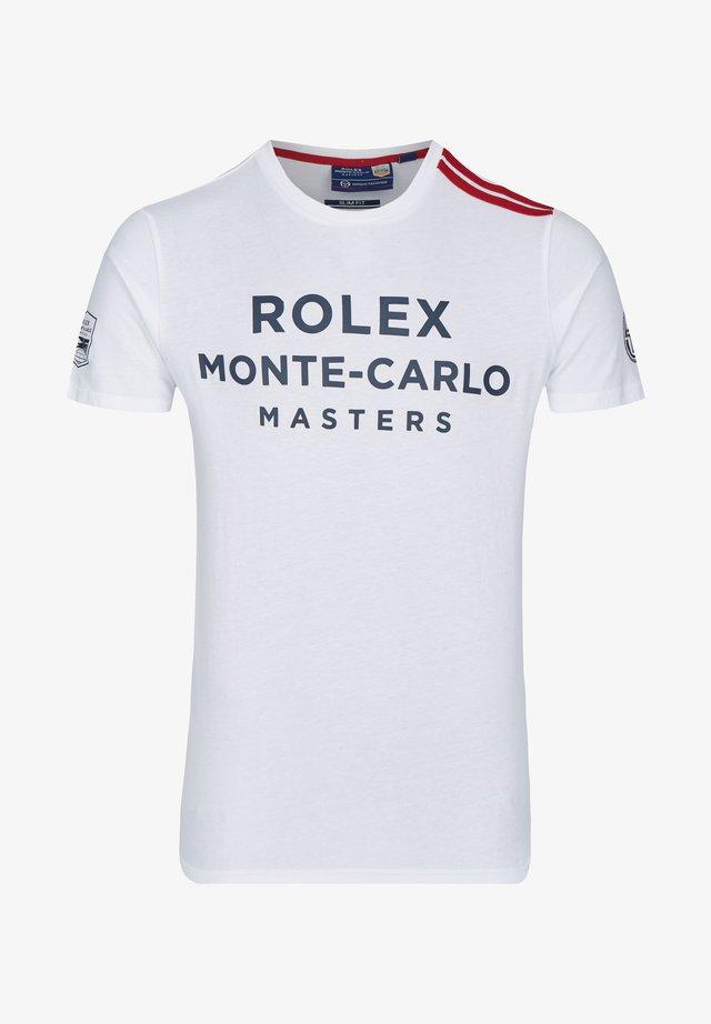 NEW IRUNE - Print T-shirt - white