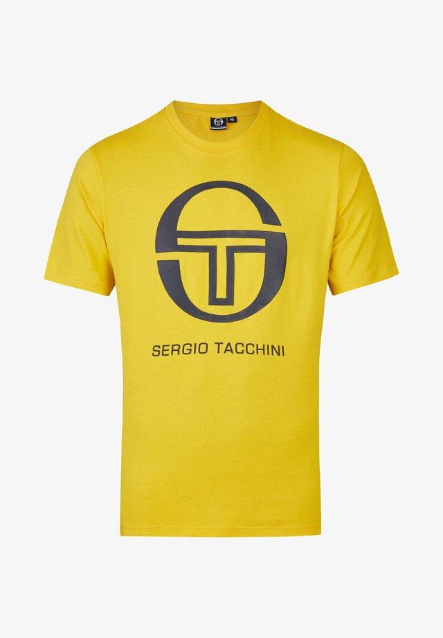 IBERIS - Print T-shirt - yellow