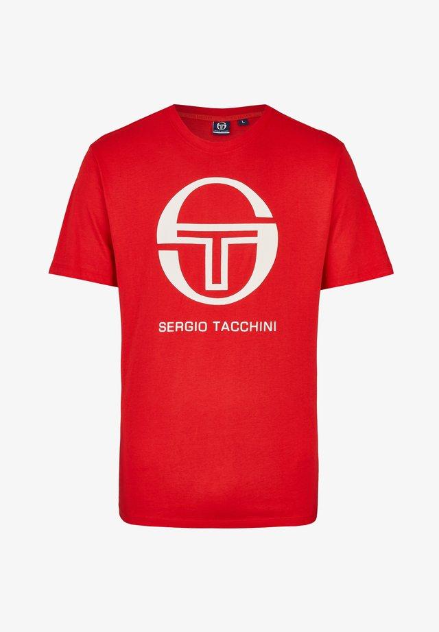 IBERIS - Print T-shirt - red