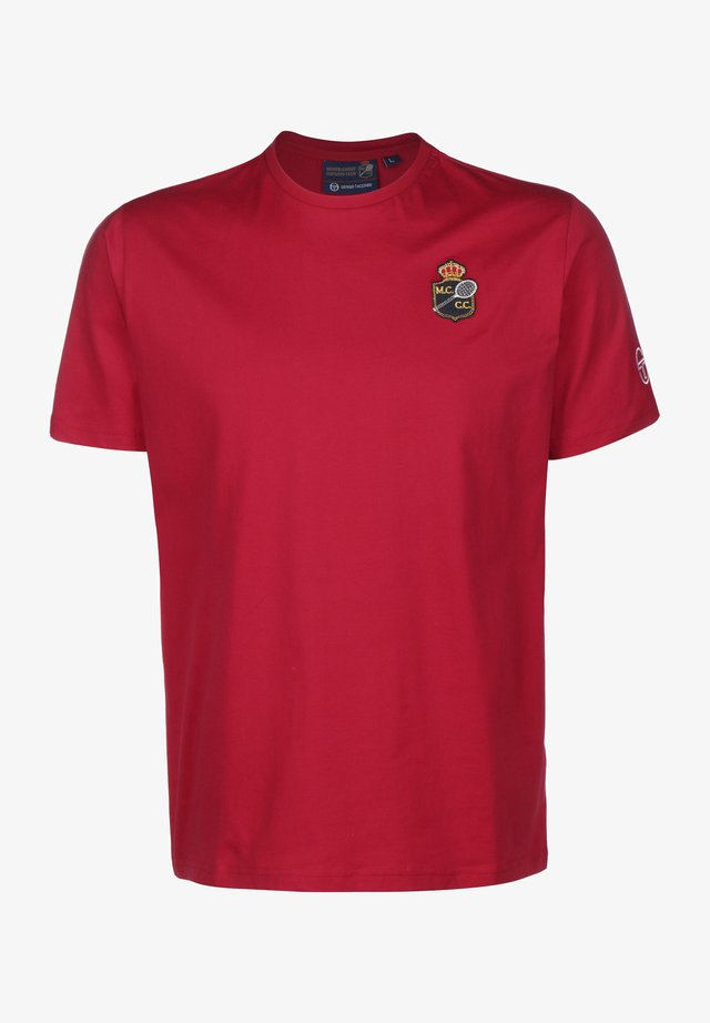 FREDONIA/MC/MCH - T-shirt print - 620 apple red/white