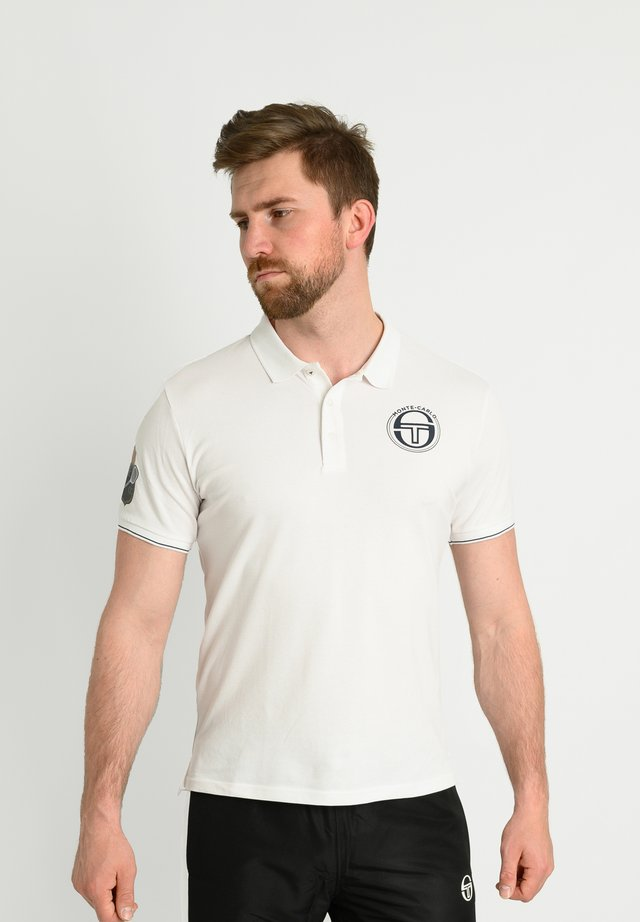 FAROE - Poloshirt - white/navy