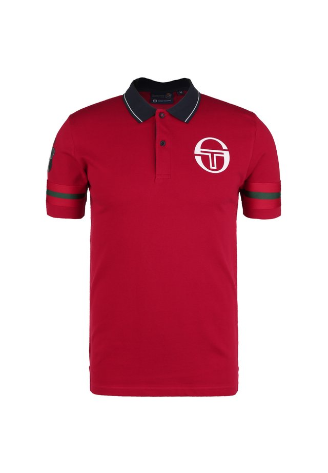 MONTE-CARLO - Poloshirt - apple red / navy