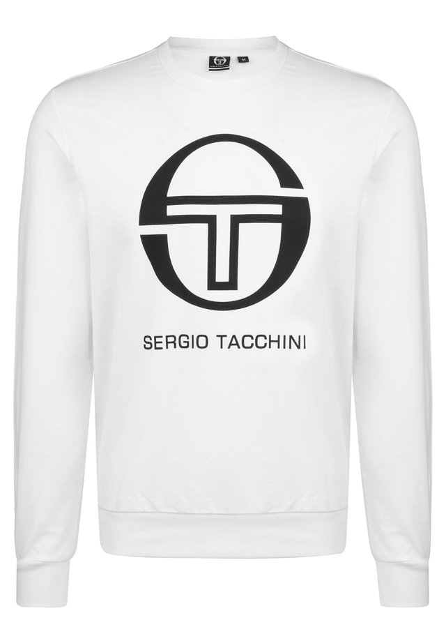 Sweater - white / black