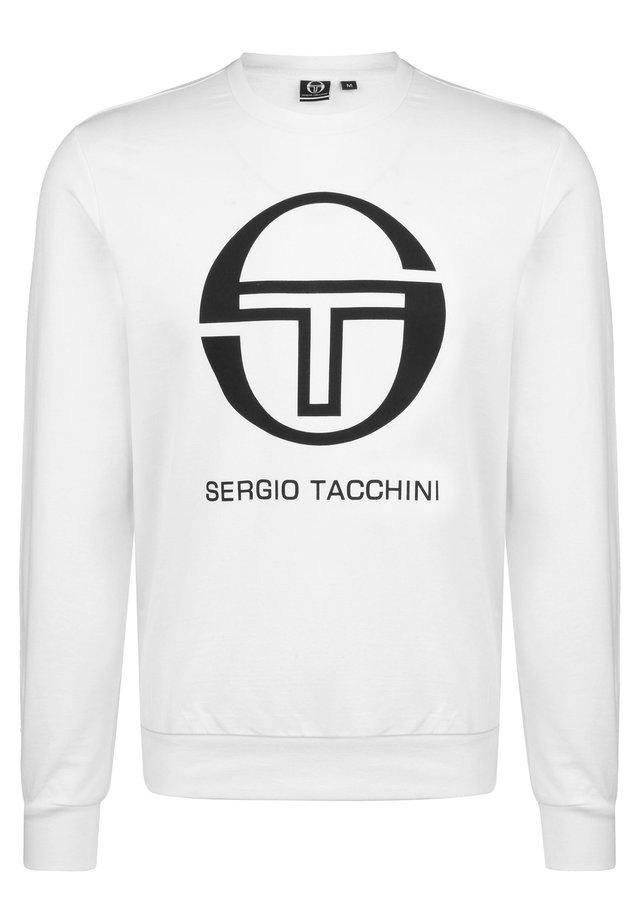 Sweatshirt - white / black