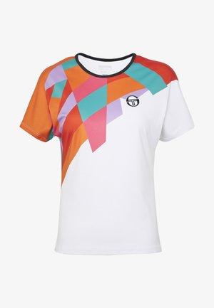 TANGRAM - T-shirts print - white/multicolor