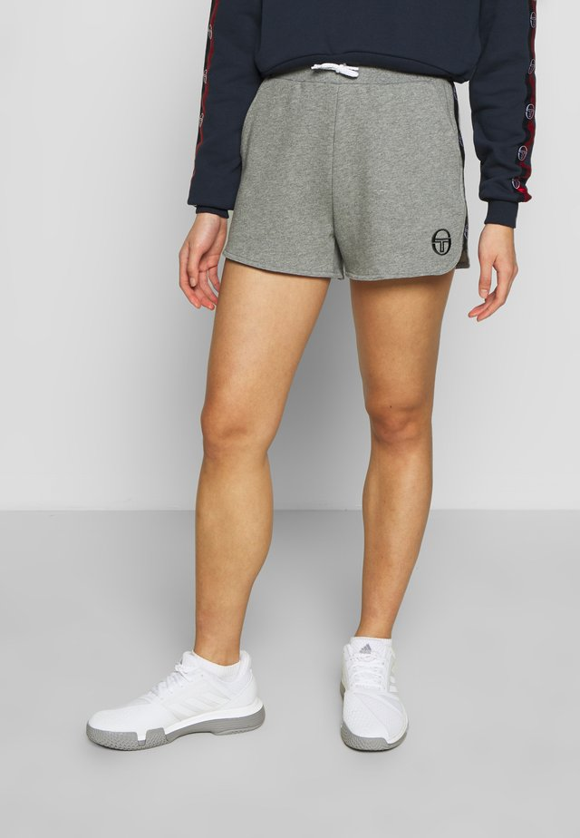 FUTURA SHORTS - Sports shorts - grey melange/black