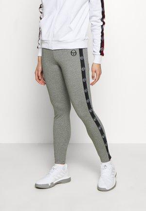 FIAMMA LEGGINGS - Leggings - grey melange/black