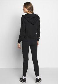 sergio tacchini - FIAMMA LEGGINGS - Tights - black/white - 2