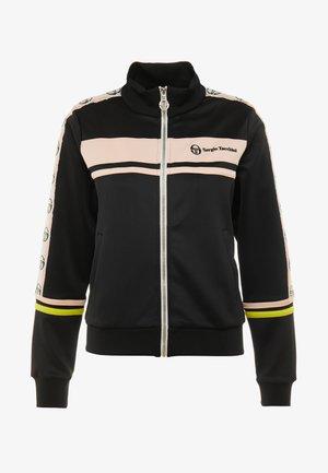 DEBORAH  - Giacca sportiva - black/pink cream