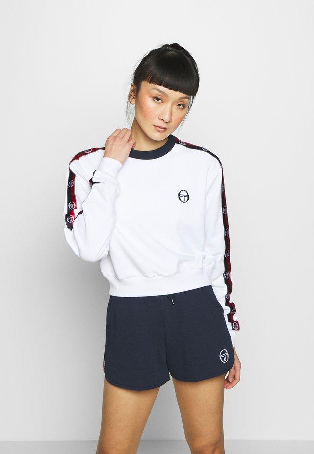 FARAH SWEATER - Sweatshirt - white/navy