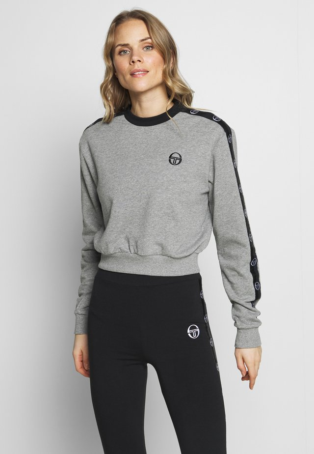 FARAH - Sweatshirt - grey melange/black
