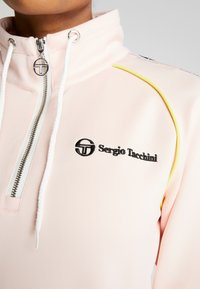 sergio tacchini - DAISY TRACK DRESS - Robe en jersey - pink cream/black - 5