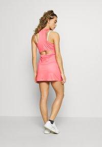 sergio tacchini - TANGRAM DRESS - Sportklänning - coral pink/multicolor - 2