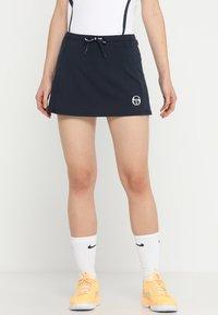 sergio tacchini - EVA  - Sports skirt - navy/white - 0