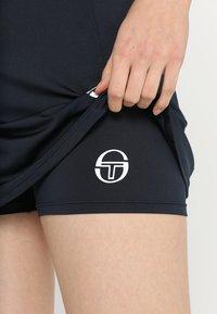 sergio tacchini - EVA  - Sports skirt - navy/white - 3
