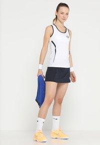 sergio tacchini - EVA  - Sports skirt - navy/white - 1