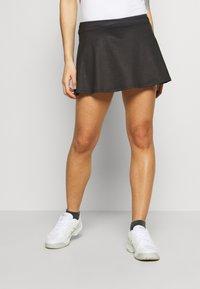 sergio tacchini - TANGRAM SKORT - Sportovní sukně - black/white - 0