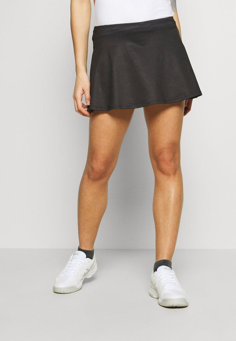 sergio tacchini - TANGRAM SKORT - Sportovní sukně - black/white
