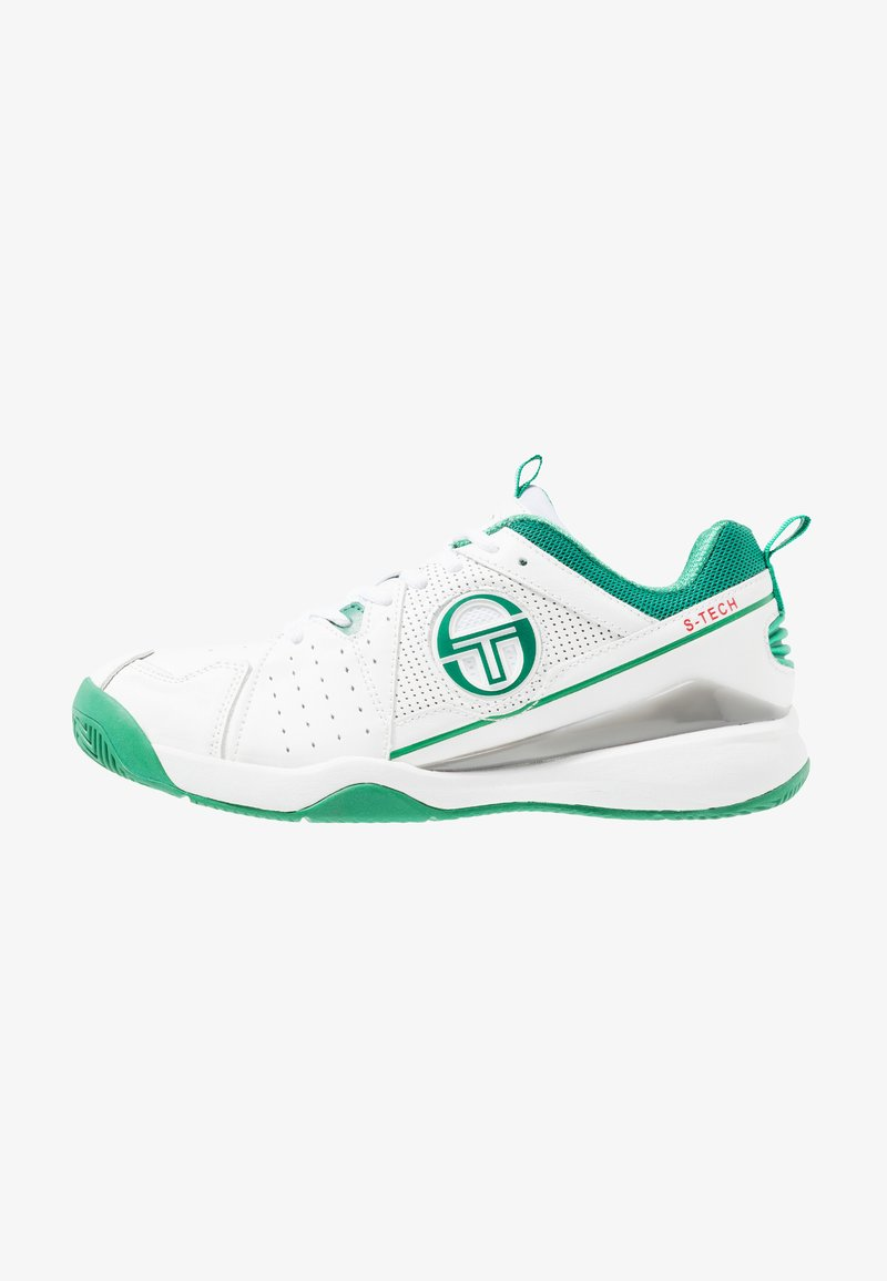 sergio tacchini - MONTE CARLO - Multicourt Tennisschuh - white/green