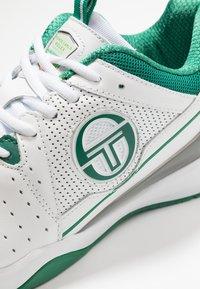 sergio tacchini - MONTE CARLO - Multicourt Tennisschuh - white/green - 5