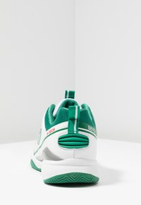 sergio tacchini - MONTE CARLO - Multicourt Tennisschuh - white/green - 3