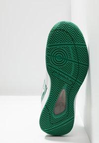 sergio tacchini - MONTE CARLO - Multicourt Tennisschuh - white/green - 4