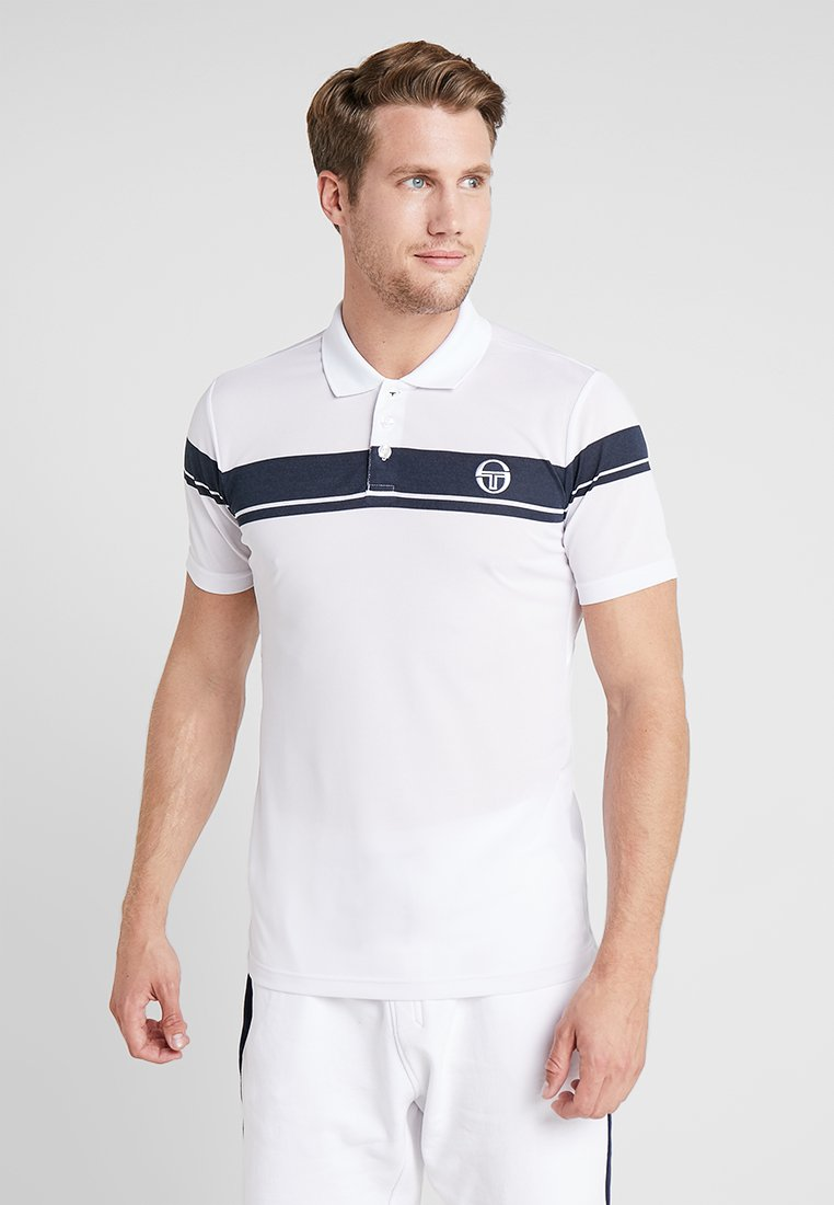 sergio tacchini - YOUNG LINE PRO  - Funktionströja - white/navy