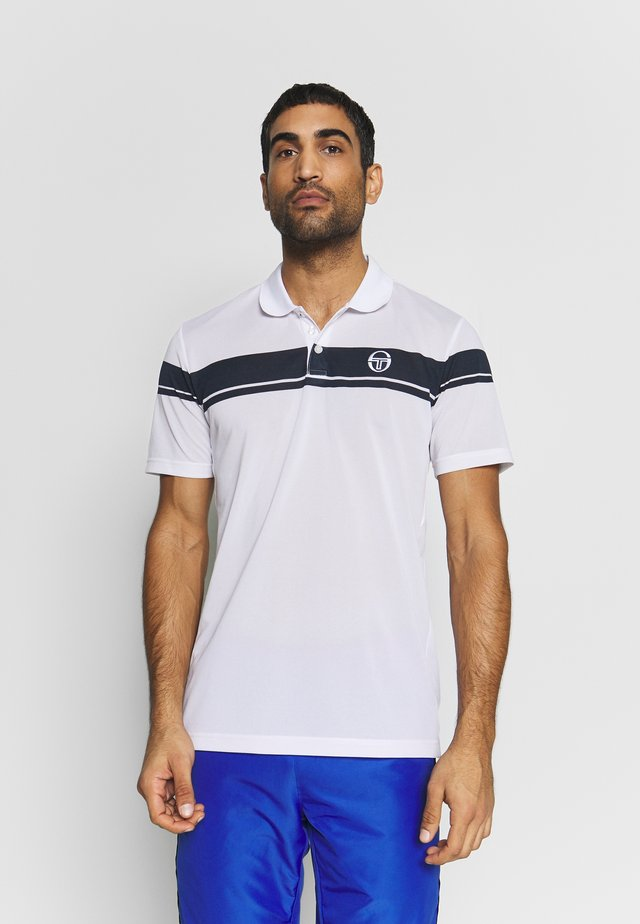 YOUNG LINE PRO - Sports shirt - white/navy