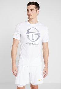 sergio tacchini - NEW ELBOW - T-shirt print - white - 0