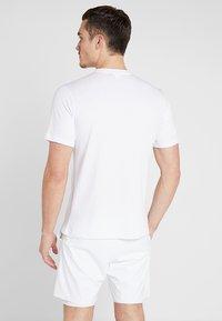 sergio tacchini - NEW ELBOW - T-shirt print - white - 2