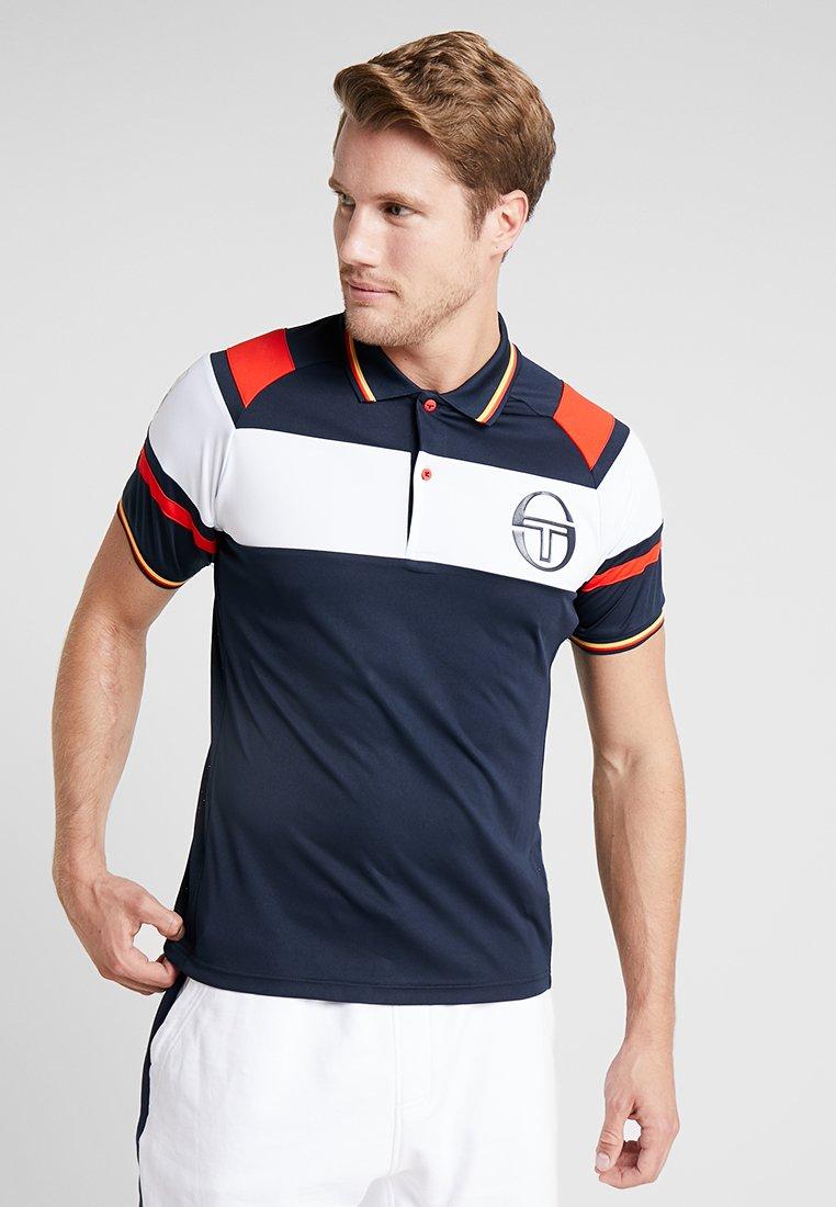 sergio tacchini - COLUMBIA - Polo shirt - navy/white