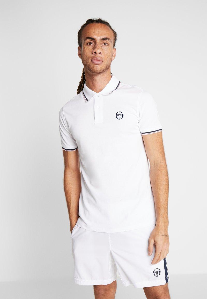 sergio tacchini - Poloshirt - white/navy