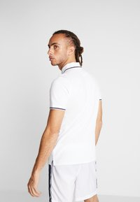 sergio tacchini - Poloshirt - white/navy - 2