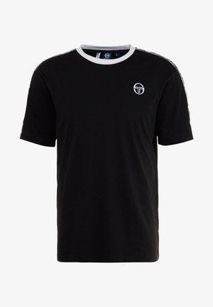 DAHOMA - T-Shirt print - black/white