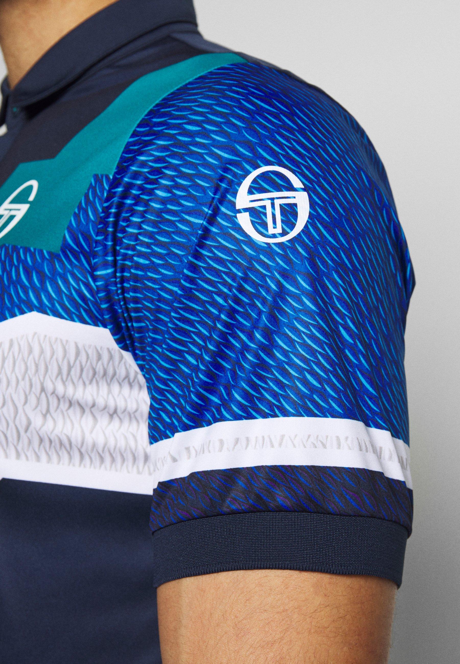 sergio tacchini T-shirt de sport - navy/royal