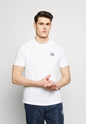 SERGIO  - T-shirt - bas - white/navy