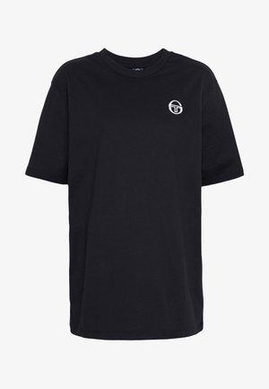 SERGIO  - T-shirt basique - black/white