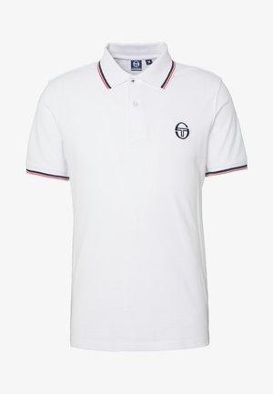 SERGIO 020 POLO - Poloskjorter - white/vintage red