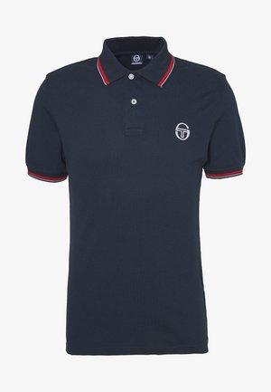 SERGIO 020 POLO - Polo shirt - navy/vintage red